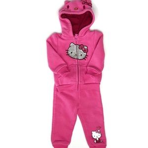 6/9 Months Baby Girl Hello Kitty 2 Piece Outfut